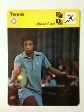 CARTE EDITIONS RENCONTRE 1977 / TENNIS - ARTHUR ASHE