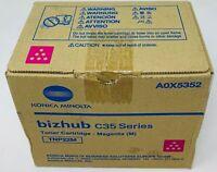 Konica Minolta A0X5352 TNP22M Toner Original Magenta Für Bizhub C35 Serie