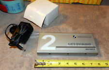 KVMSwitchTech's 2 Port DVI Extender Splitter, DVI-CAT-2  CAT5 DVI/AUDIO