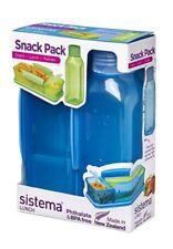 Sistema Snack Pack Boîte Déjeuner & Bouteille d'eau Set * New & Sealed *