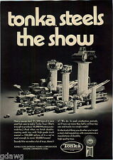 1971 ADVERT Toy Tonka Trucks Mass Display Street Poller Ride On Mound Minnesota