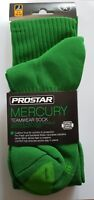 (soc540) Youths PROSTAR MERCURY EMERALD GREEN Football socks  3 - 6 BNIP