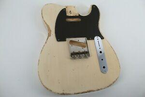 MJT Official Custom Vintage Age Nitro Guitar Body Mark Jenny VTT Butter 1Piece
