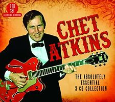 CHET ATKINS - THE ABSOLUTELY ESSENTIAL - NEW CD COMPILATION