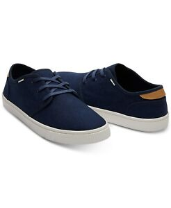 TOMS Men's Carlo Canvas Sneakers Navy Heritage