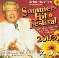 SOMMER - HIT FESTIVAL 2003 - 2 CD NEU Robin Gibb Steinwolke Claudia Jung Wind