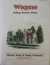 1920s WAYNE VISIBLE CYLINDER GAS PUMP Gas Station Photos & Drawings ILLUSTRATED