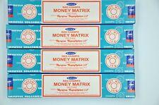 Satya Nag Champa dhoop MONEY MATRIX Incense Sticks burning fragrance Agarbatti