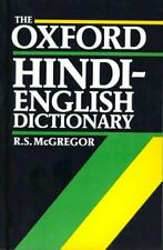 The Oxford Hindi-English Dictionary by R.S. McGregor Book The Fast Free Shipping