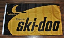 Ski-Doo Banner Flag Bombardier Snow Mobile Winter Sports Ships from USA New