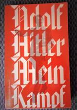 Mein Kampf Annotated Book Critically 1971 Softcover English Translation Manheim