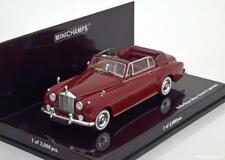 ROLLS ROYCE SILVER CLOUD II CABRIOLET 1960 RED MINICHAMPS 436134930 1/43 ROSSO