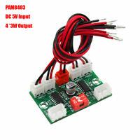 1pc 4-Channel Mini PAM8403 Digital Audio AMP Amplifier Board DC 5V 4*3W