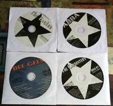 4 CDG LOT 1970'S KARAOKE DISCS CLASSIC HITS ABBA,CARPENTERS,BEE GEES,EAGLES