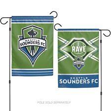 Seattle Sounders FC 2 Sided Garden Flag