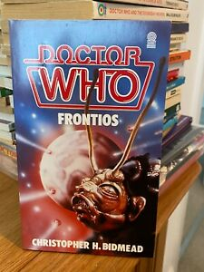 doctor who target book -  FRONTIOS - 1st edition