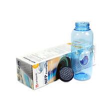 Carbonit NFP Premium Filterpatrone, Filter + 0,5l Trinkflasche Blume des Lebens