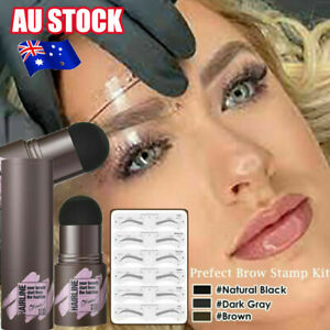 Stencils One Step Brow Stamp Shaping Kit Eyebrow Stamp Shaping Makeup Set #T