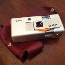VINTAGE ROLLEI E - 110 Pocket Camera