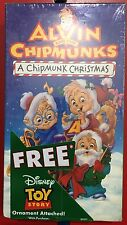 Alvin and the Chipmunks - A Chipmunk Christmas (VHS, 1992)  Very-Rare New