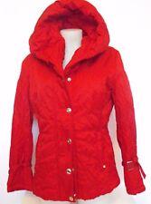 Biba Tolle Jacke Winterjacke Damenjacke Mantel Rot Gr38