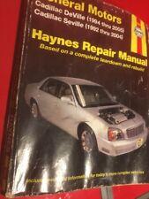 Haynes Repair Manual Cadillac Deville Seville 1994 Thru 2005 38032