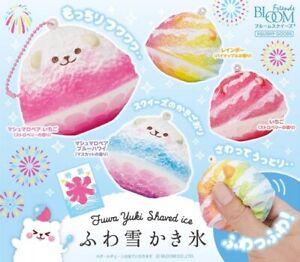 Ibloom Squishy FuwaYaki Mini Marmo Marshmallow Bear Shaved Ice Squishy NEW