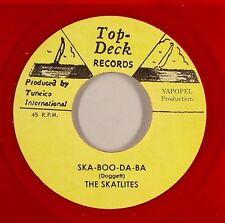 THE SKATALITES - SKA BOO DA BA (TOP TECK) 1966