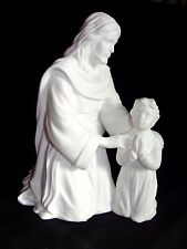 Lenox 1991 A Child's Prayer in Life of Christ Religious Figure Fine Bone China