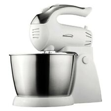 Brentwood Appliances 5-Speed 200W White Stand Mixer w 3 qts. Jar