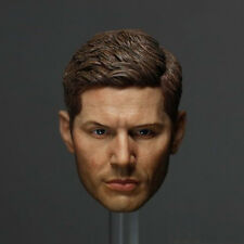 NEW Supernatural Dean Winchester HEADPLAY Jensen Ackles head carved 1/6 FIGURE
