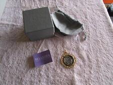 NEW Bellezza Special Edition 500 Lira Coin Bronze Scroll Pendant