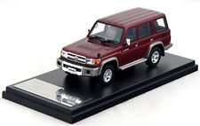 1/43 Hi-Story Toyota Land Cruiser 70 Van 2014 Red HS100RE