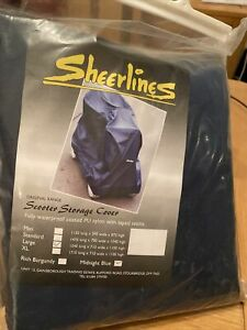 Sheerlines Scooter Storage Cover - Large Midnight Blue