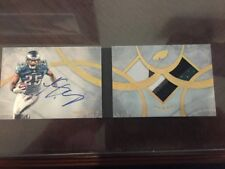 LeSean McCoy 2013 Topps Five Star Booklet Patch On Card Auto **1/1** SICK!!