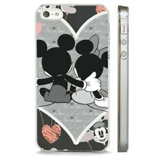 Mickey Minnie Mouse In Love Disney CLEAR PHONE CASE COVER fits iPHONE 5 6 7 8 X