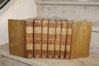 Oeuvres complètes de Beaumarchais (E-O, 1809) en 7 volumes reliés