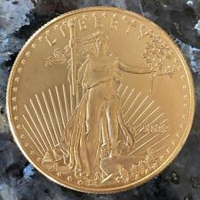 2009 $50 Fifty Dollar Liberty 1 Oz Gold Coin - 22KT Gold