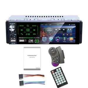Autoradio radio voiture MP5 écran tactile 4.1 pouce FM AM RDS Bluetooth USB 1DIN