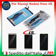 Display Per XiaoMi Redmi NOTE 4X LCD Touch Screen Vetro Schermo Con Frame