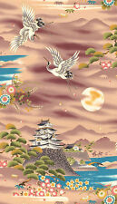 Castles & Cranes: Kona Bay Asian Japanese Fabric (BTY)