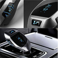 Bluetooth V3.0 FM Transmitter Cigar lighter USB Car Charger for iPhone 7 iPod US