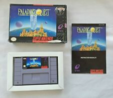Used SNES Paladin's Quest for Super Nintendo with Manual and BOX!