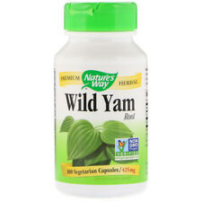 Wild Yam Root 100 Vcaps Diosgenin Energy Libido Sexual Health Virility