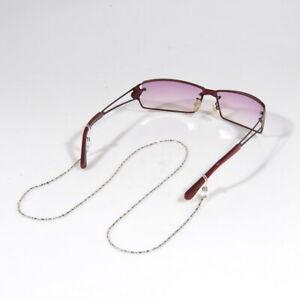 2x Silver/Gold Fabris Lane Etalia Glasses Sunglasses Chain Strap Cord Holder