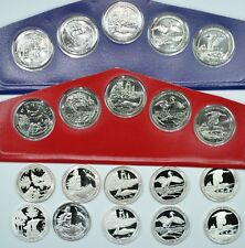 2018 PDSS America the Beautiful National Park clad cello, proof & silver proof