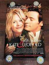 KATE & LEOPOLD DS MOVIE POSTER ONE SHEET NEW AUTHENTIC