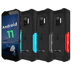 OUKITEL WP12 Téléphone Incassable Android 11 Smartphone Antichoc Étanche 4+32 GO