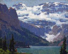 Payne Edgar Victoria Lake Lake Louise Print 11 x 14   #5327
