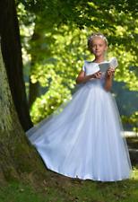 Gr.146 Luxus Kommunionkleid Festkleid Kleid Designer festlich Kommunion Neu